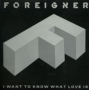 Foreigner I Want To Know What Love Is Street Thunder