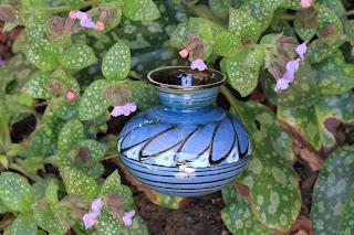 Kähler Vase with Lungwort
