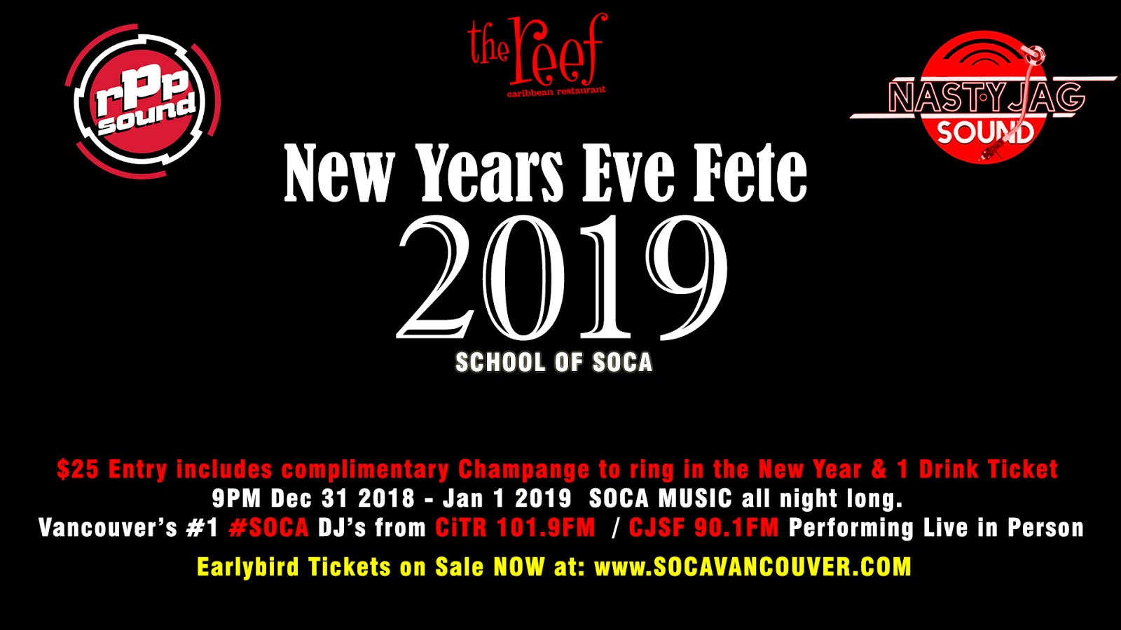 Buy Tickets to New Year's Eve 2019 Party