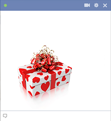 Christmas Gift Facebook Emoticon
