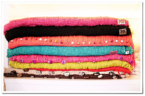 Chales tejidos verano 2013 Marina H.
