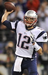 New England's QB Tom Brady