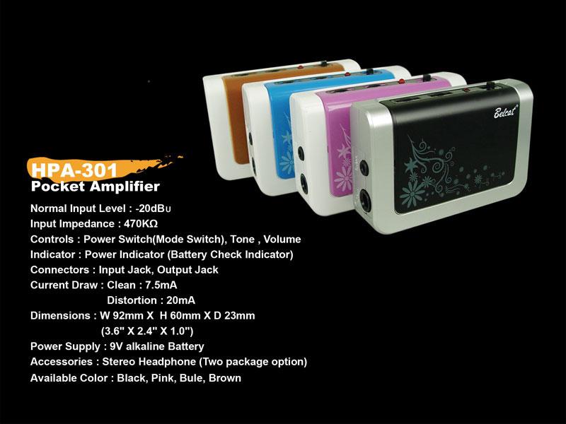 Belcat Amps Bass Pocket Amp Belcat Hpa 301