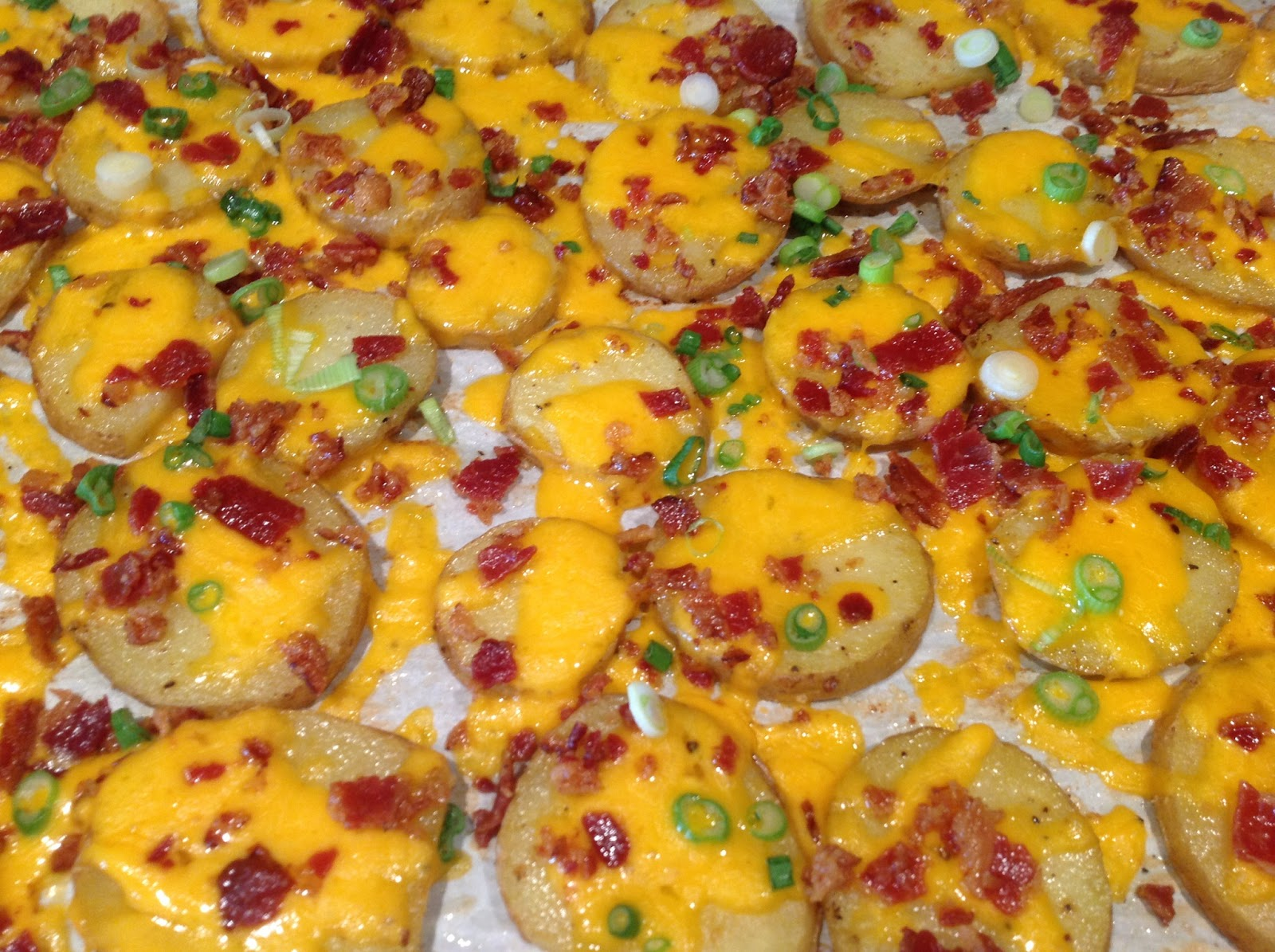 Dawn's Recipes: Loaded Baked Potato Rounds