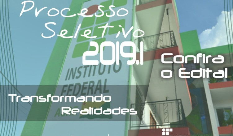 CONCURSO SELETIVO IFAC