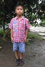 Our sponsored child Ucok