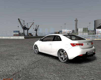 Kia Cerato Koupe 2011 Para GTA IV