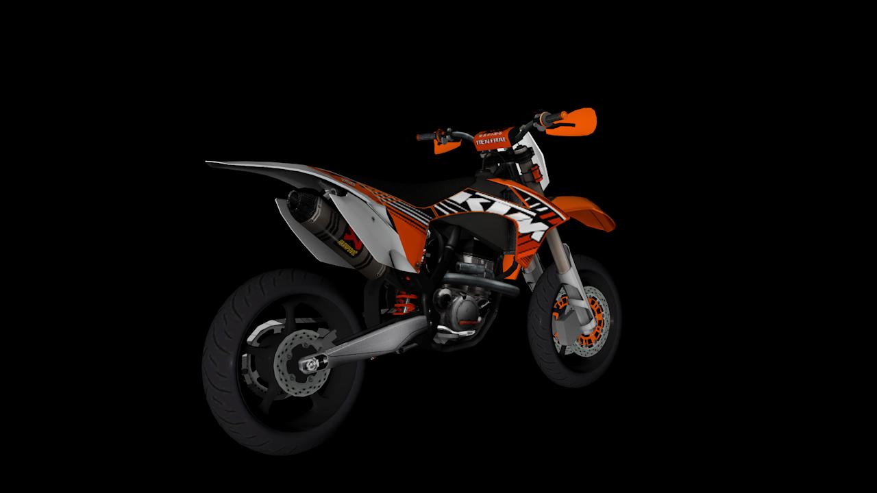 [REL] KTM 250cc exc - Super motard 2