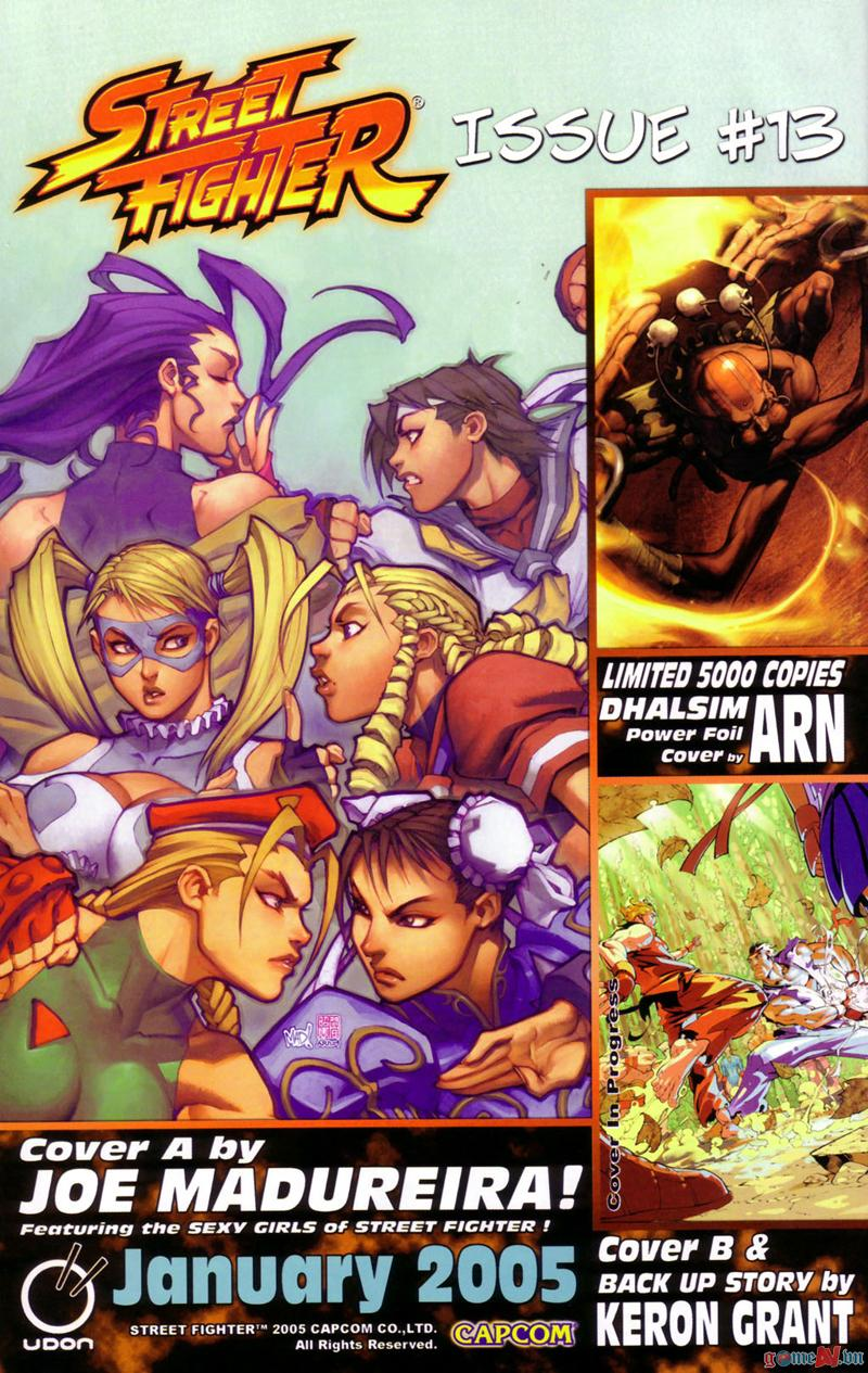 Street Fighter chap 12 - Trang 22