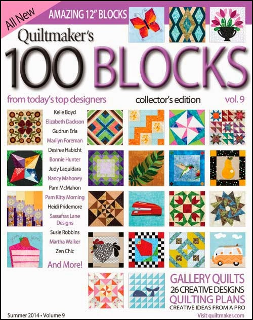 Quiltmaker's 100 Blocks, Vol. 9