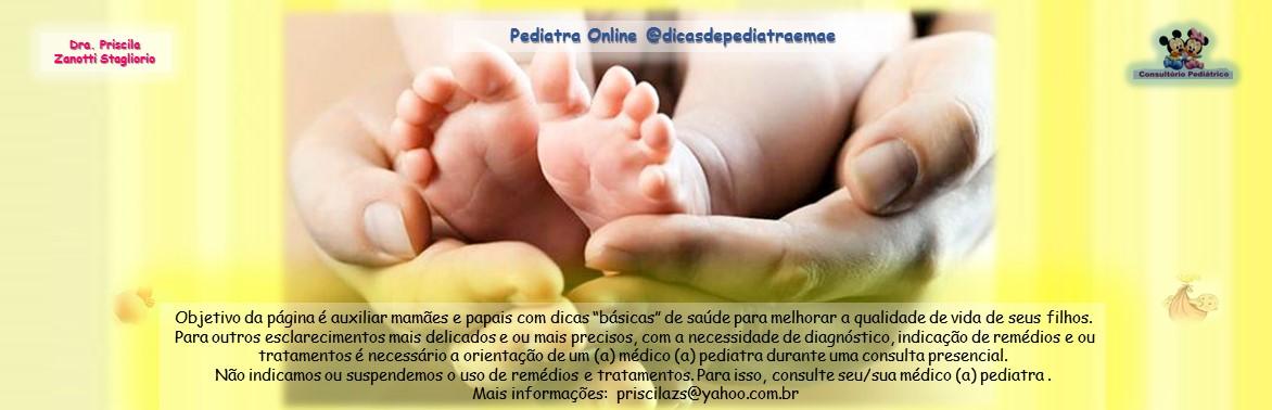 Pediatra On Line - Dicas de Pediatra e Mãe