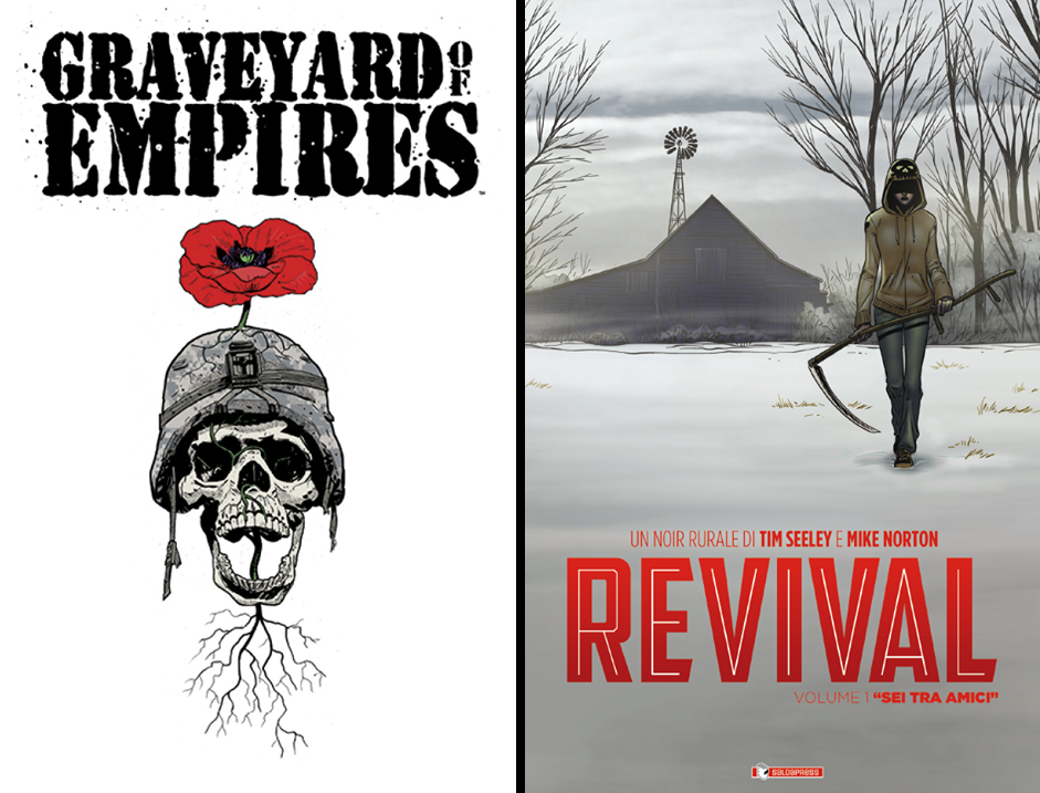 Graveyard of Empires #1 + Revival #1
