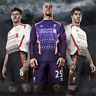 Jersey Terbaru Liverpool 2013/14
