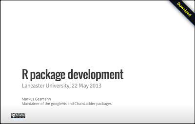 R package development