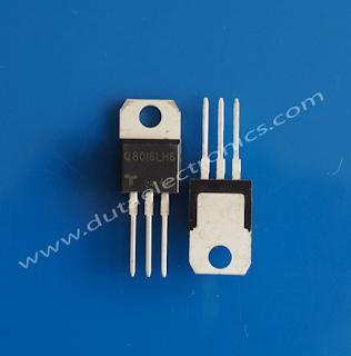 Jual Transistor Q8016LH6 (TO-220)
