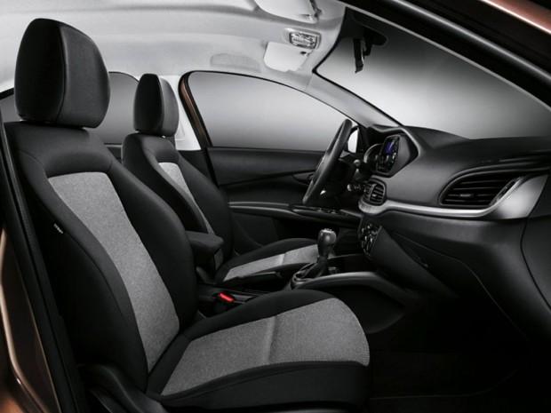 Novo fiat tipo fotos e informa es autos novos for Interior fiat tipo
