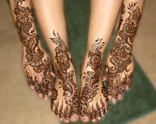 Mehndi Designs Jeans : The fashion time: mehndi designs for feet and fingers