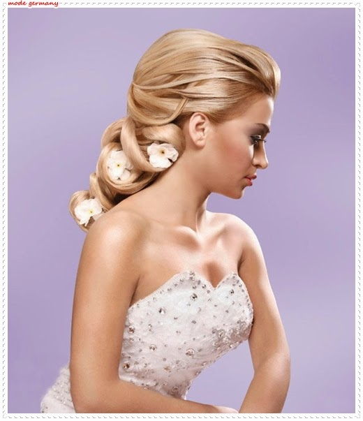 Die Romantischsten Brautfrisuren 2014