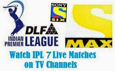 IPL 7 live streaming