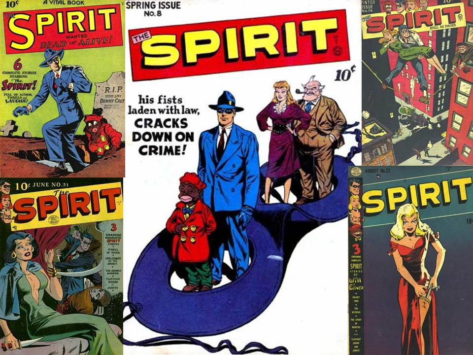 comic spirit This is the spirit disambiguation page you can find a complete listing of versions of this character here comics other media see also comic series featuring spirit, cover gallery: spirit.