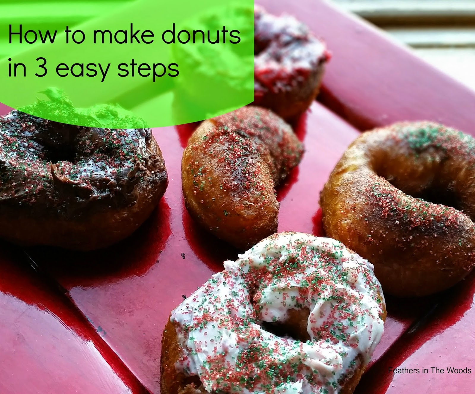 2 ingredient donut recipe