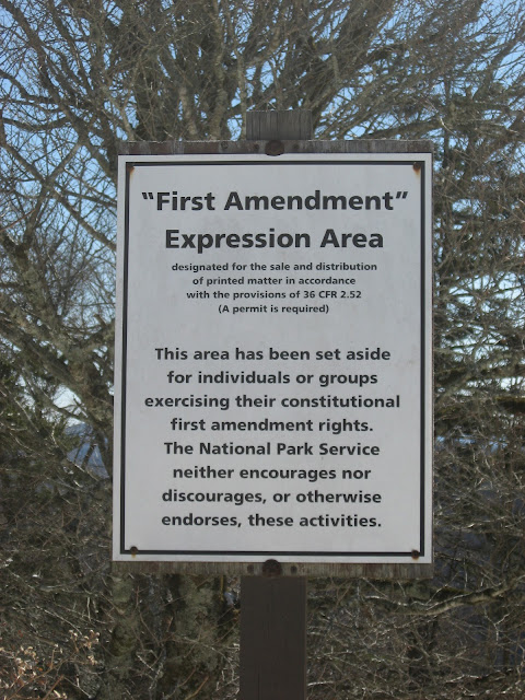 First Amendment Sign