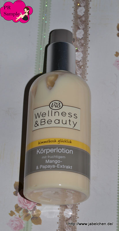 Wellness & Beauty Körperlotion mit Mango und Papaya