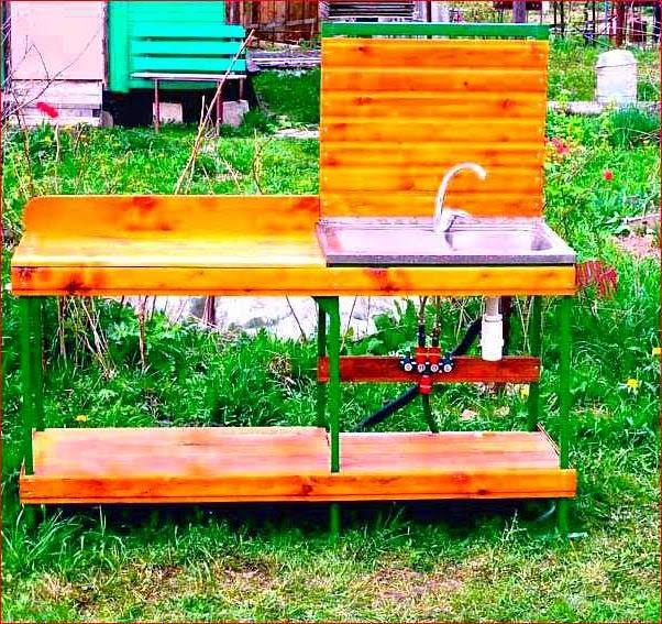 Самоделки для дачи сада своими руками