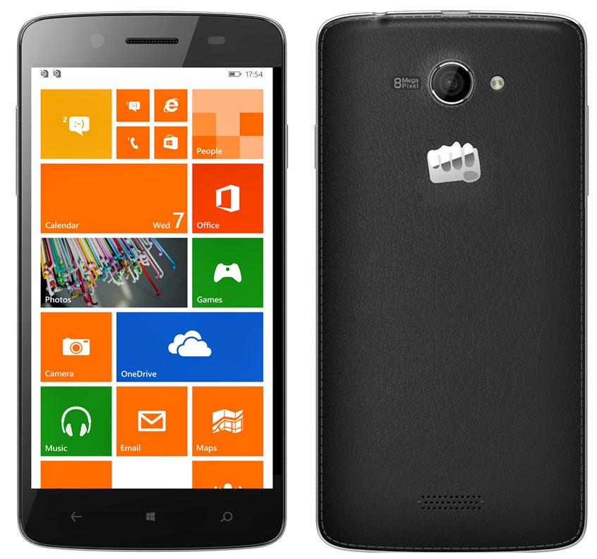 Buy Micromax Canvas Windows Phone Win W121 for Rs 5990