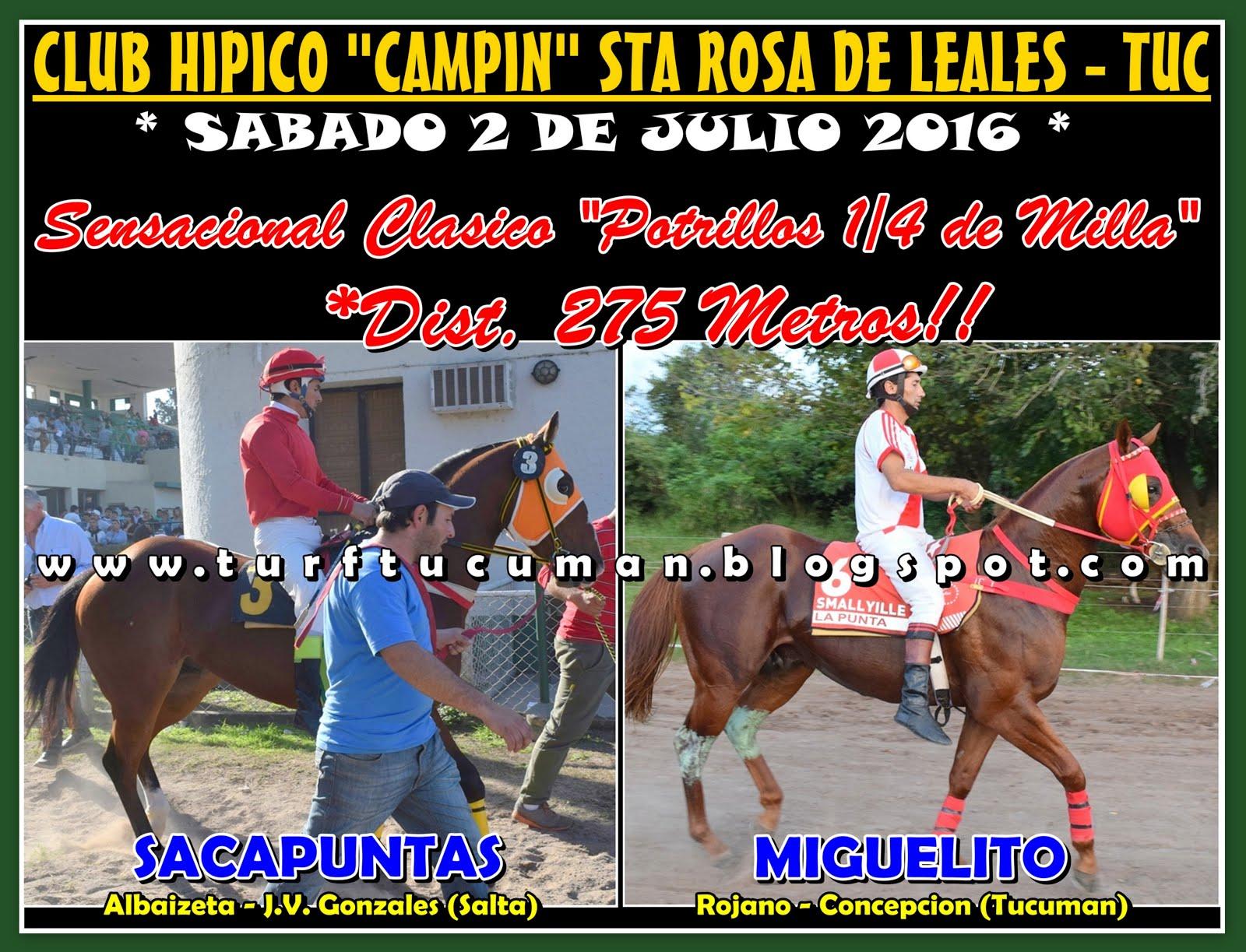 MIGUELITO VS SACAPUNTAS