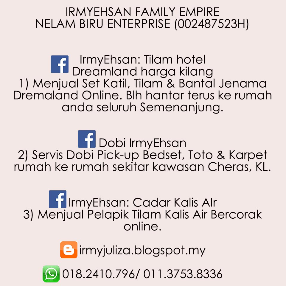 Like/ Share FB Page kami. Tq