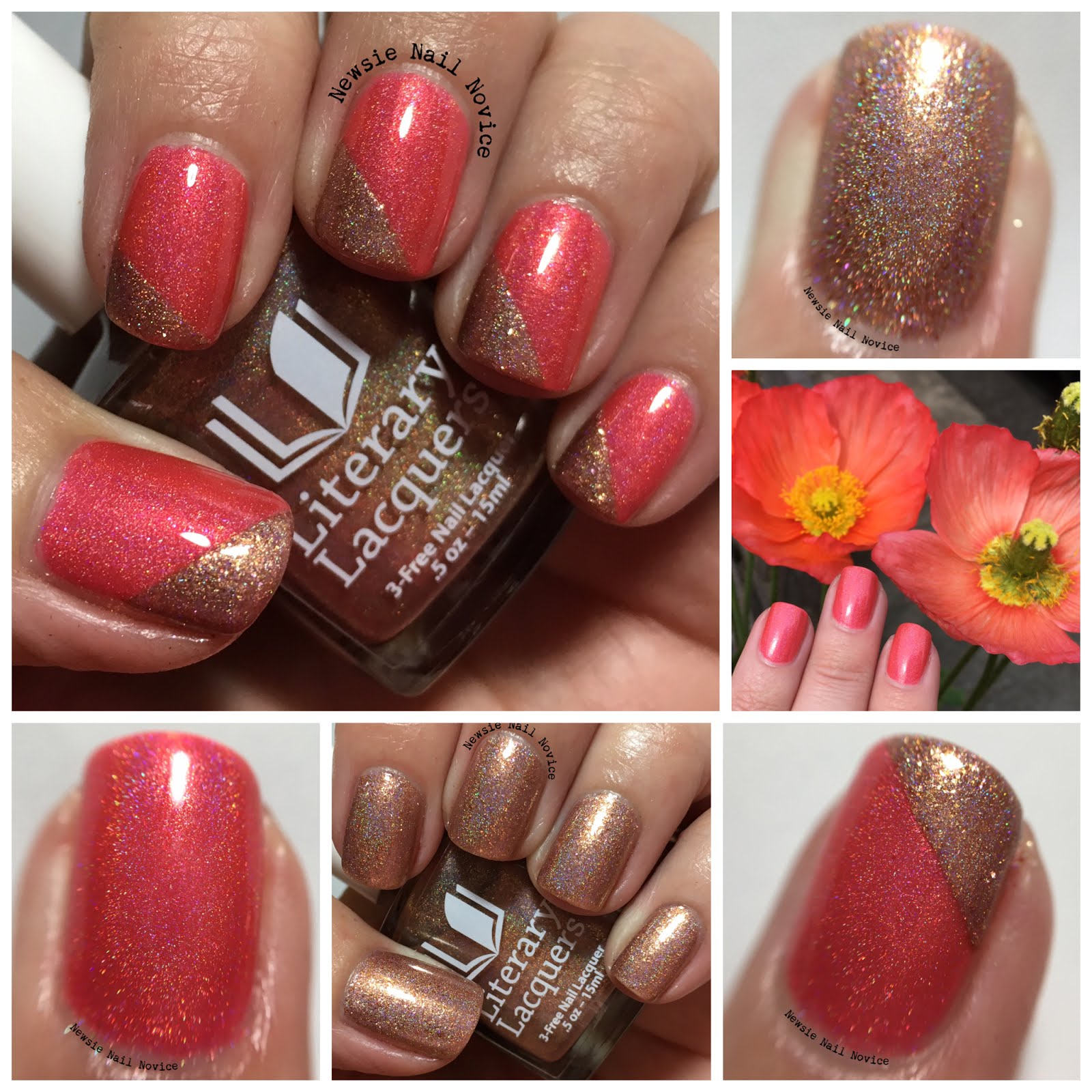 Literary Lacquers HHC and Charity Polish | Newsie Nail Novice