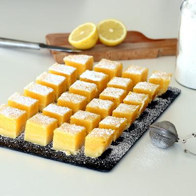 Illustration carrés au citron