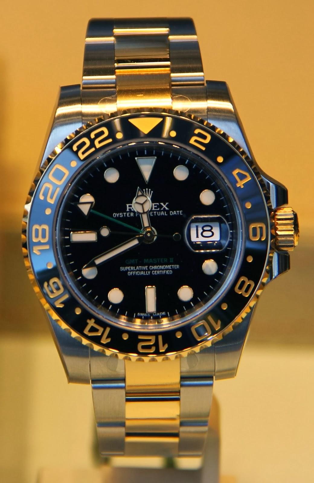 Rolex Gmt Master 2 Stahl