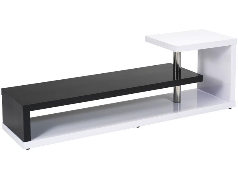 Préférence Meuble TV conforama noir et blanc | Meuble TV QU61