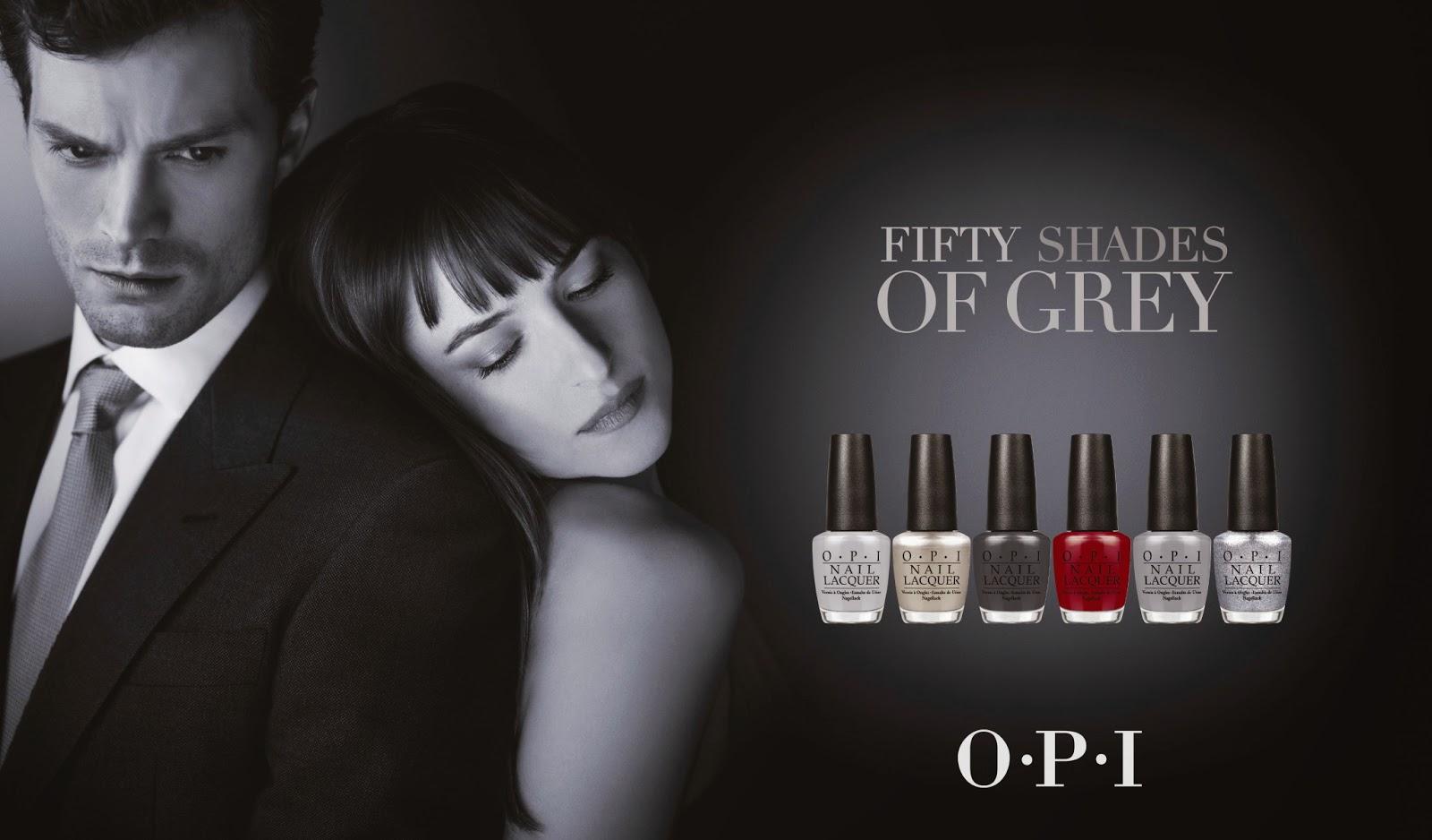 PHOTOS Fifty Shades Of Grey OPI Nail Polish Make Up For Ever Ads