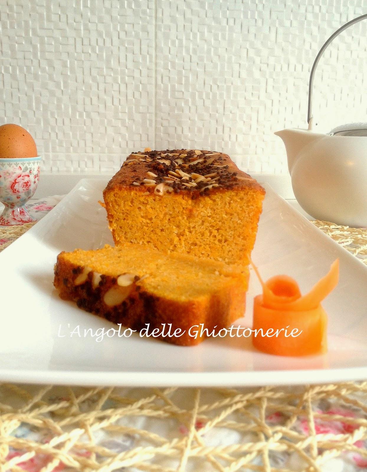 soft&sweet carrot plum cake. simone rugiati docet