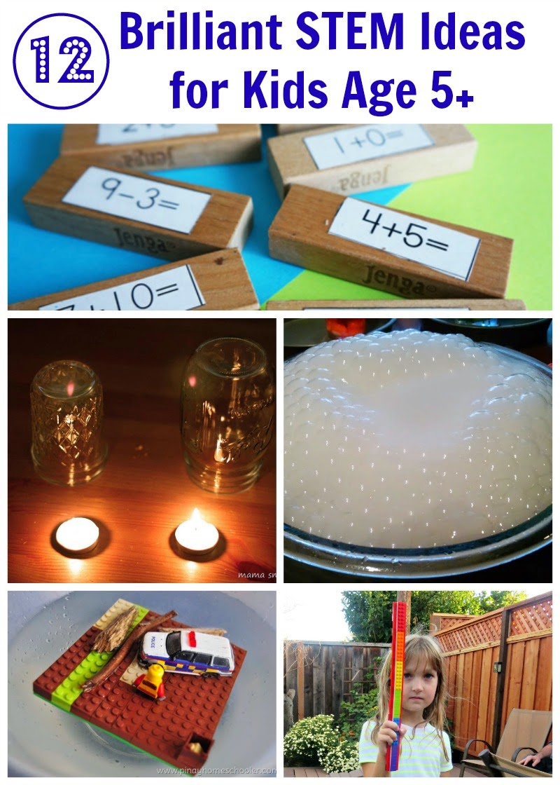 12 STEM Ideas for Kids Age 5+ from After School Link Up
