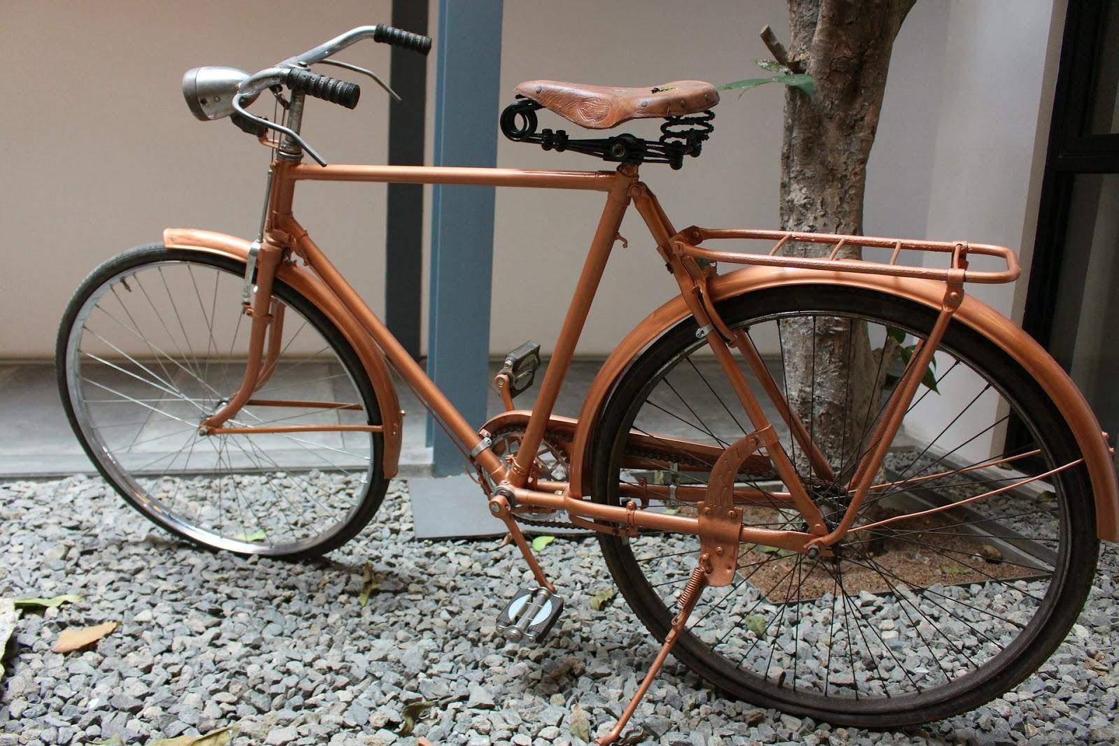 vanha polkupyörä myydään