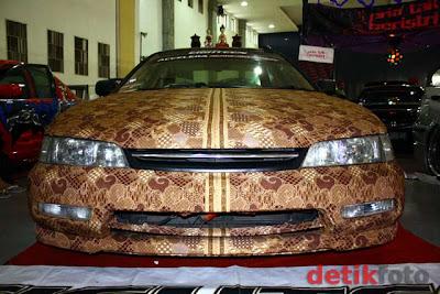 Gambar Mobil Batik Honda Accord