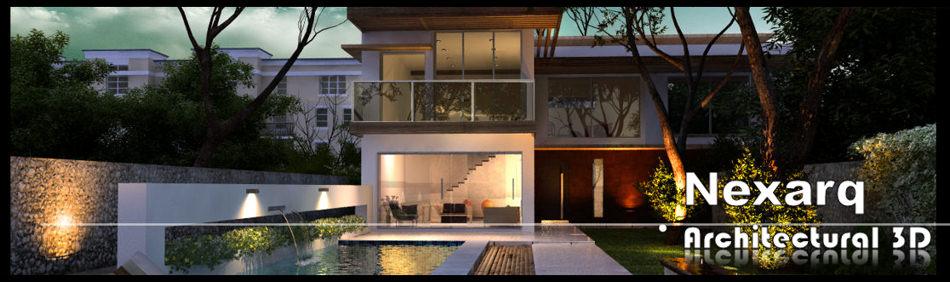 Render animaci n 3d arquitectura y dise o nexarq - Paginas de arquitectura y diseno ...