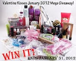 Valentine kisses giveaway