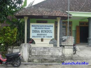 Bangunan di Desa Sundul