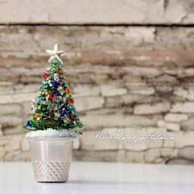Thimble Christmas Tree - Nichola Battilana