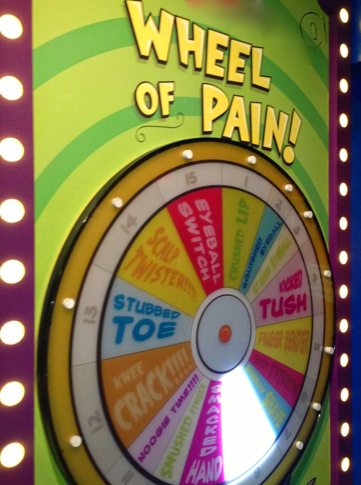 Step Right Up, Spin The Wheel Of Pain   Lucky Besties