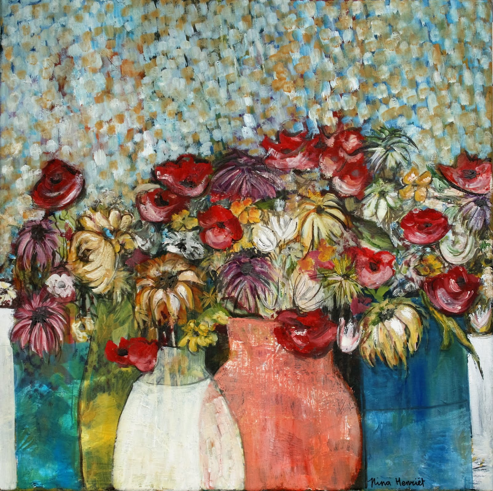 Mrs. 'Bouquet' / SOLD