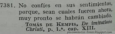 frases de Thomas Kempis