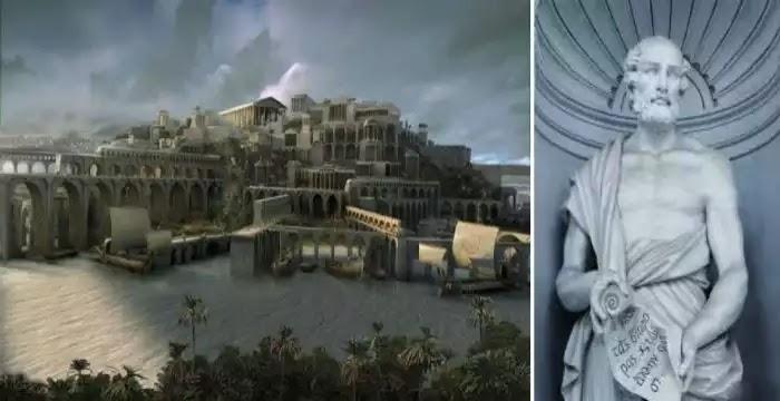 Θεόφραστος περί της μυθικής Ατλαντίδος…