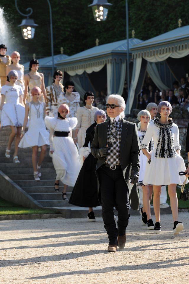 Chanel Cruise 2013 Versailles