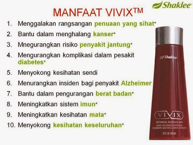 Manfaat Vivix Shaklee part 2 Shaina Shop
